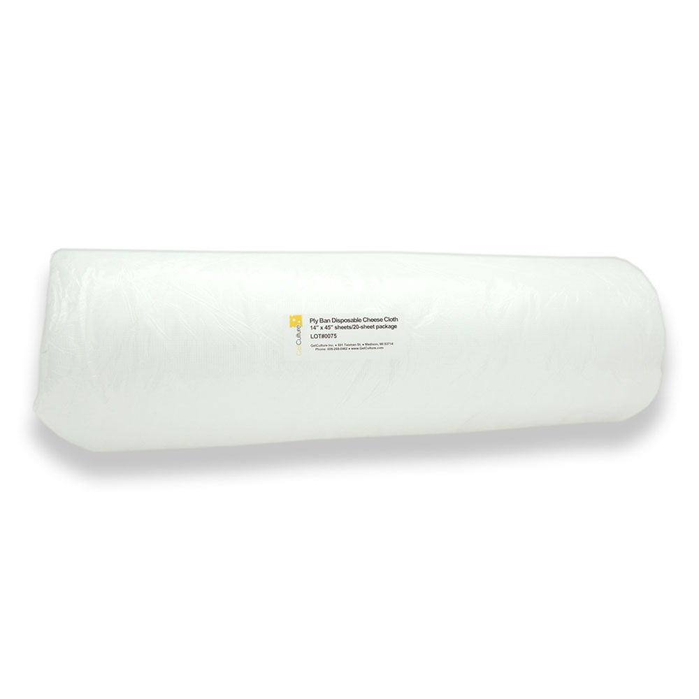 Disposable cheesecloth (Plyban)